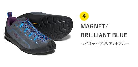 4 MAGNET/BRILLIANT BLUE マグネット/ブリリアントブルー