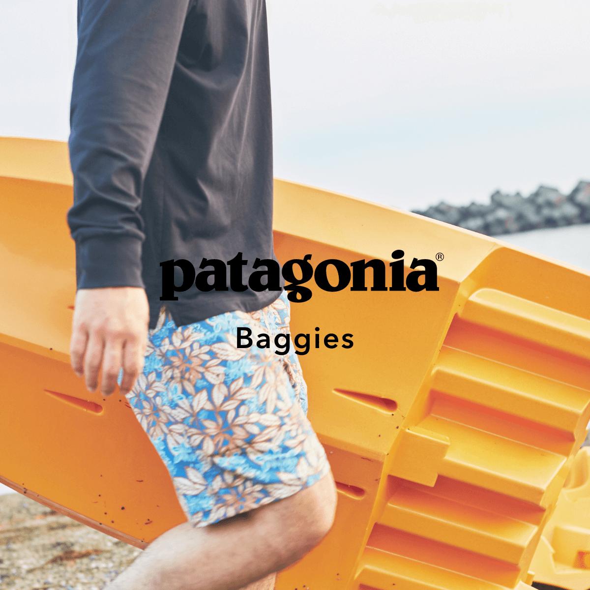 海でも山でもおうちでも!patagonia バギーズシリーズ 2021