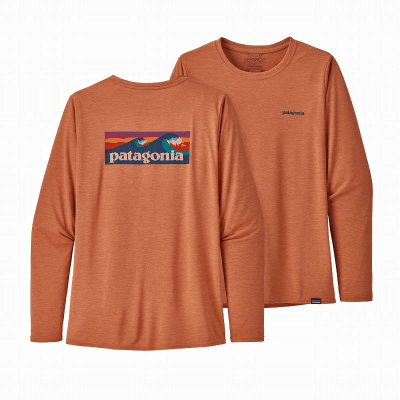 patagonia パタゴニア L/S キャプリーンクール デイリー グラフィックシャツ