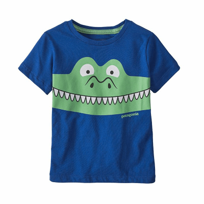 patagonia パタゴニア ベビー グラフィックオーガニックTシャツ