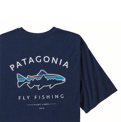 patagonia パタゴニア フレームドフィッツロイトラウトオーガニックTシャツ