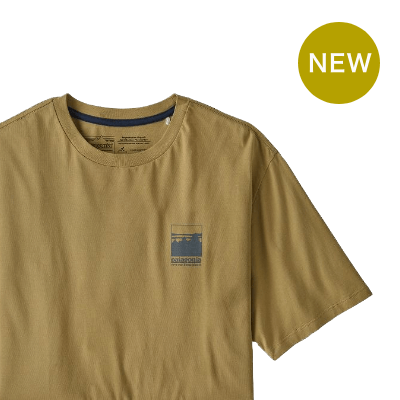 patagonia パタゴニア アルパインアイコンリジェネラティブオーガニックコットンTシャツ