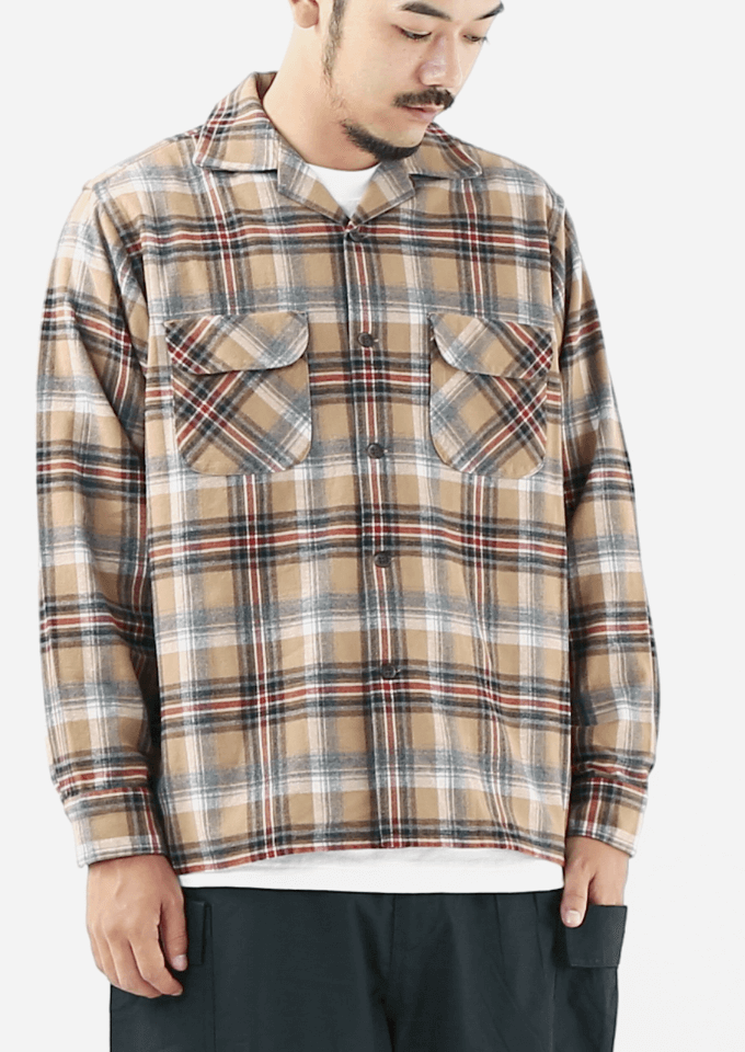 PENDLETON(ペンドルトン)オープンカラーシャツ