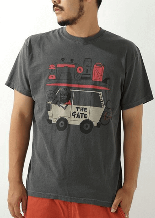THE GATE×chi-beeコラボTシャツ