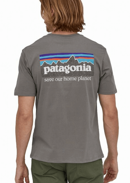 Patagonia  P-6ミッション オーガニックTシャツ