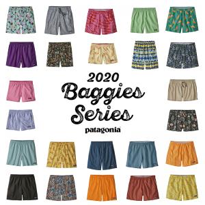 パタゴニア バギーズシリーズ 2020 ー今年のカラーも大注目!ー