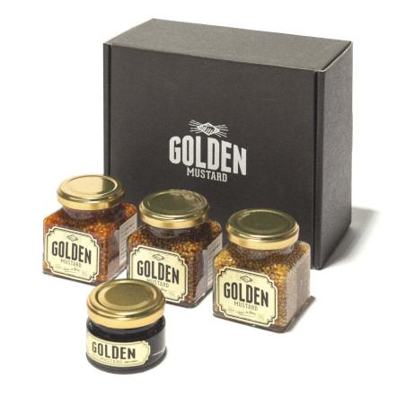 GOLDEN MUSTARD / ゴールデンマスタード化粧箱付4種セット
