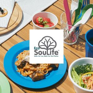 "<span class=""title"">EcoSouLife– エコソウライフ – 土に還る、地球と寄り添う食器。</span>"