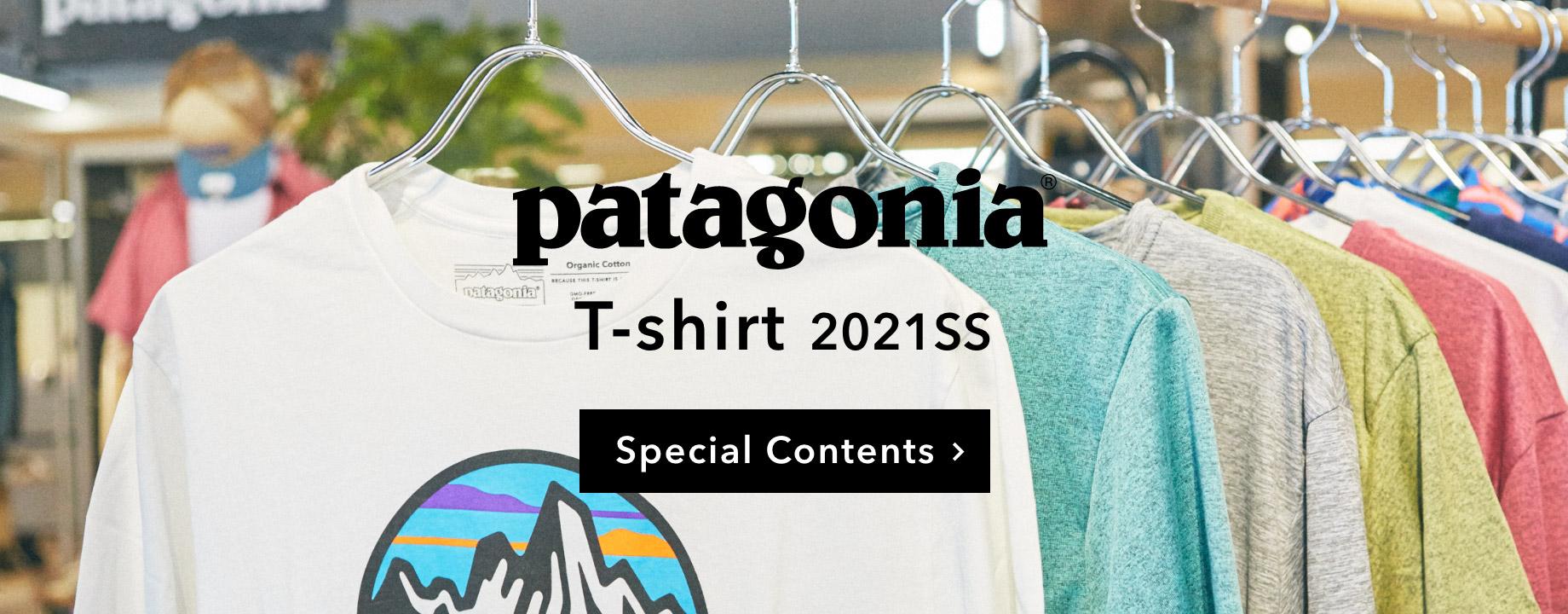 patagonia パタゴニア Tシャツ特集へ